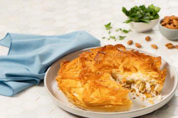 Moroccan Chicken Basteeya