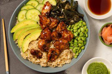 Chicken Poke Bowl