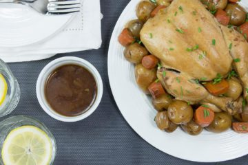 Slow-Cooker Roast Chicken Dinner