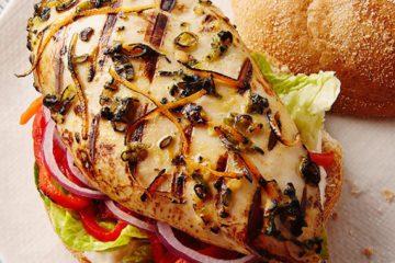 A Taste of Summer Chicken Sandwich