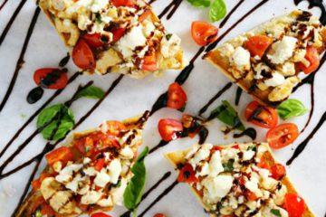 Chicken Feta Bruschetta